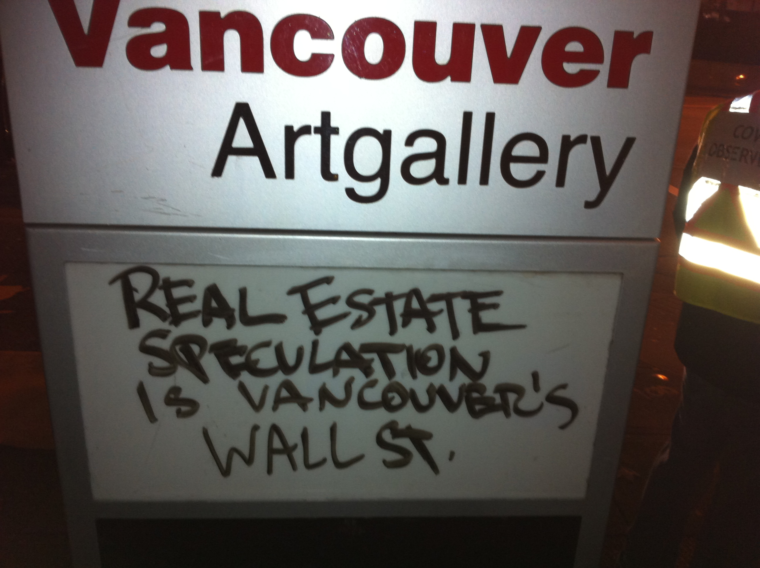 Vancouver's Wall Street
