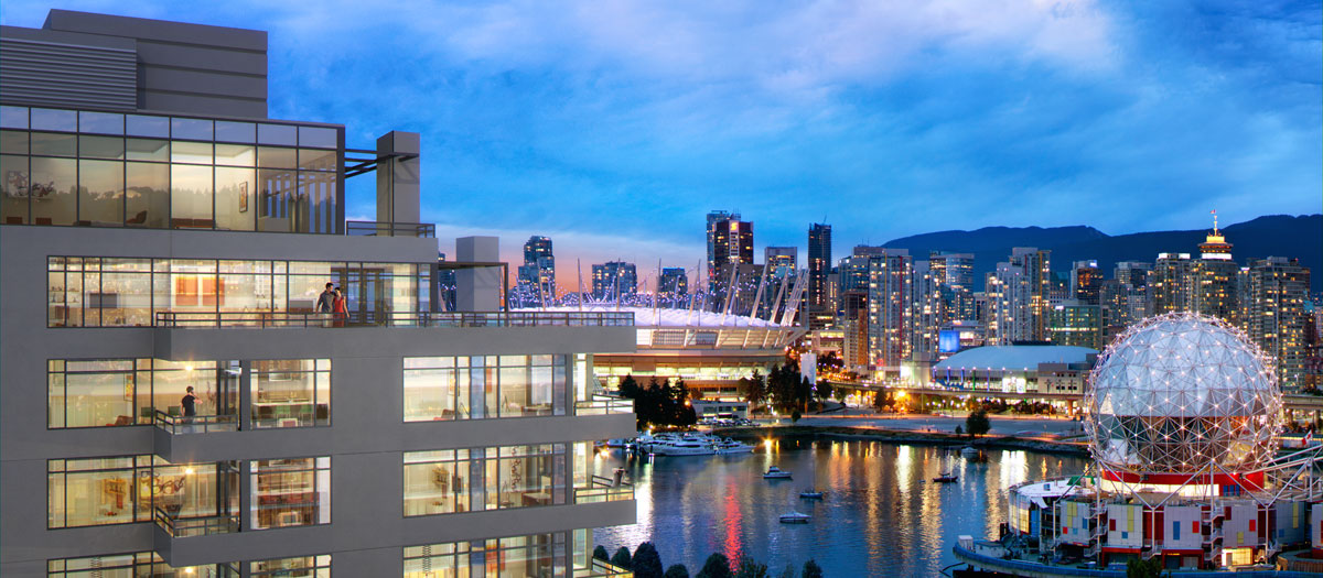 Lido By Bosa Properties Southeast False Creek Condo