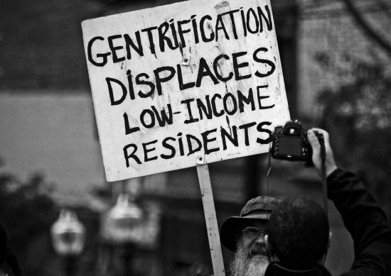 Gentrification Displaces
