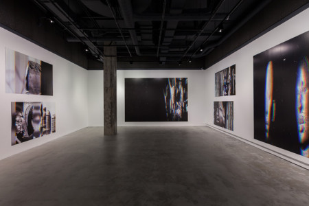 "Raymond Boisjoly, Installation view, ""From age to age, as its shape slowly unraveled…"" VOX Centre de l'image contemporain, Montreal, 2015"
