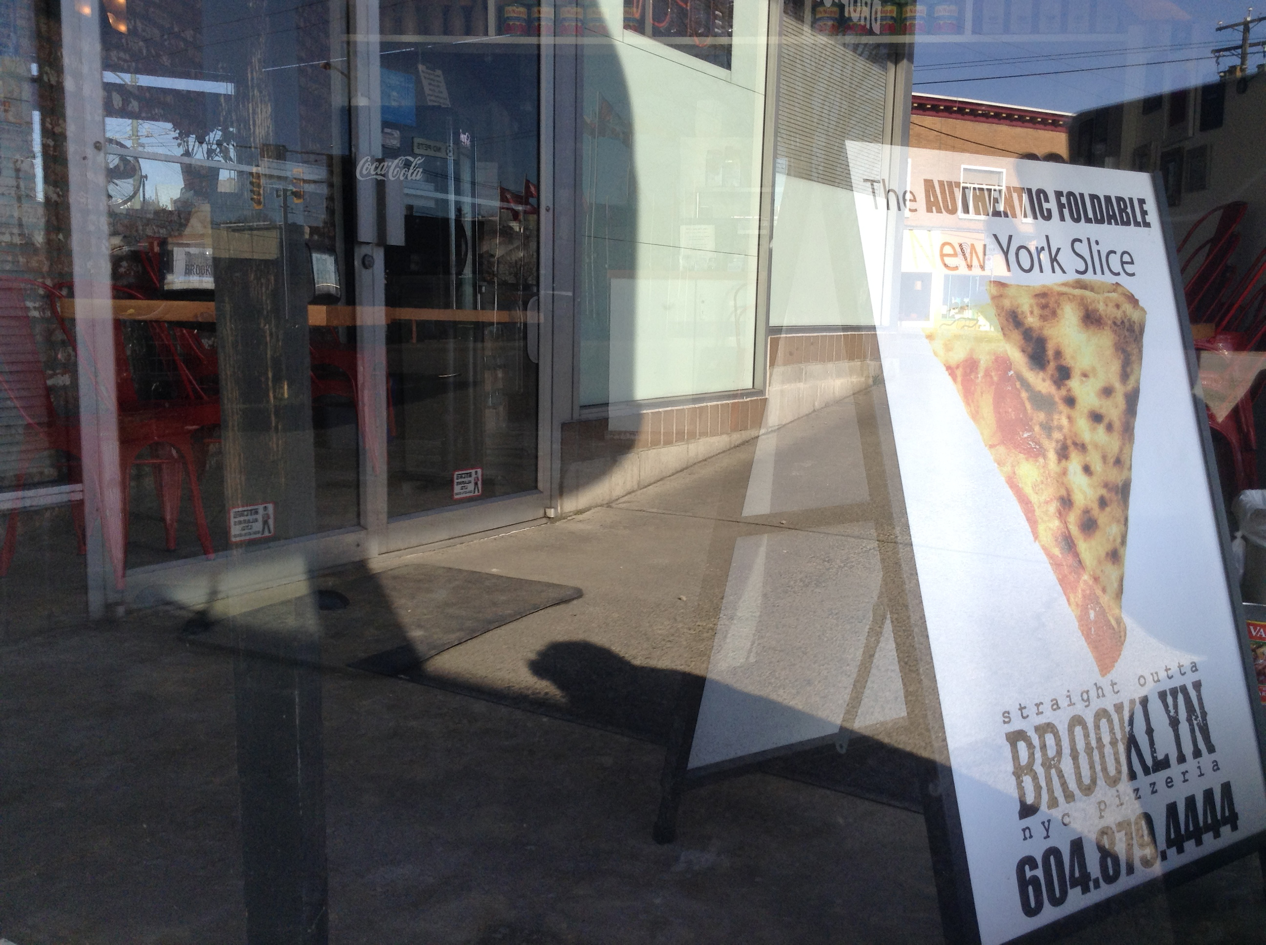 Authentic New York Style Pizza at Fraser and Kingsway (Photo by author)