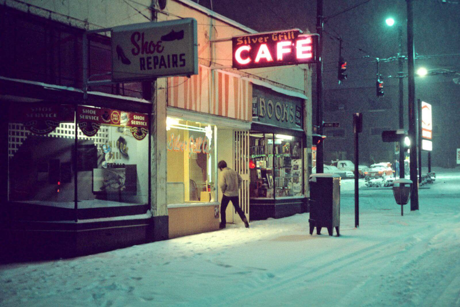 Greg Girard, Silver Grill Cafe, 1975