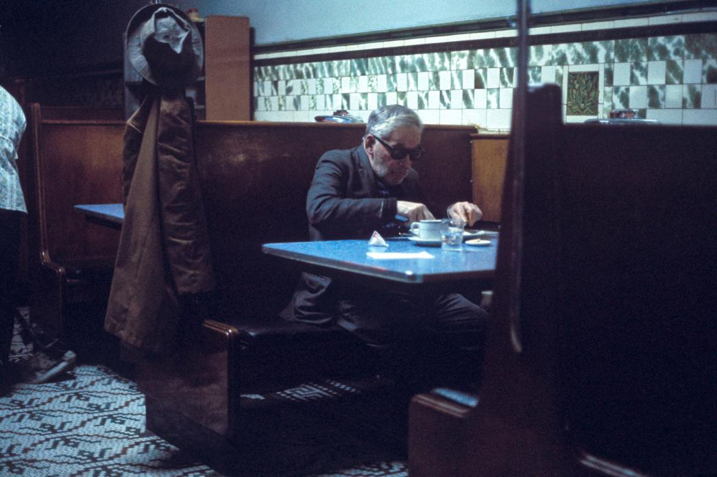 Greg Girard, Blue Eagle Cafe, 1975