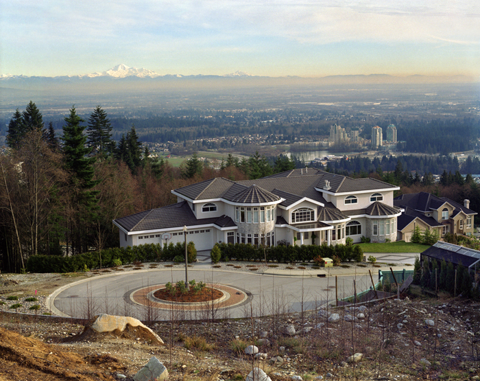 Roy Arden, Monster House, Coquitlam (1996)