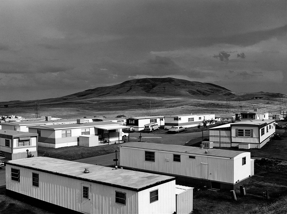 Robert Adams, Mobile Homes, Jefferson County, Colorado, (1973)