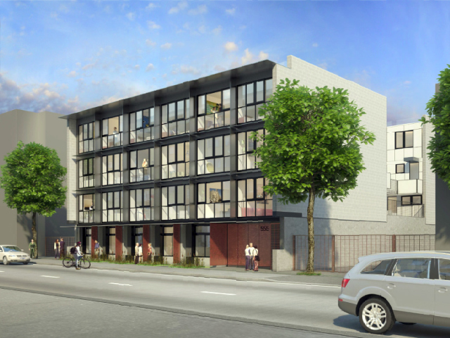 Developer vision of the 500-block E. Cordova without low-income people