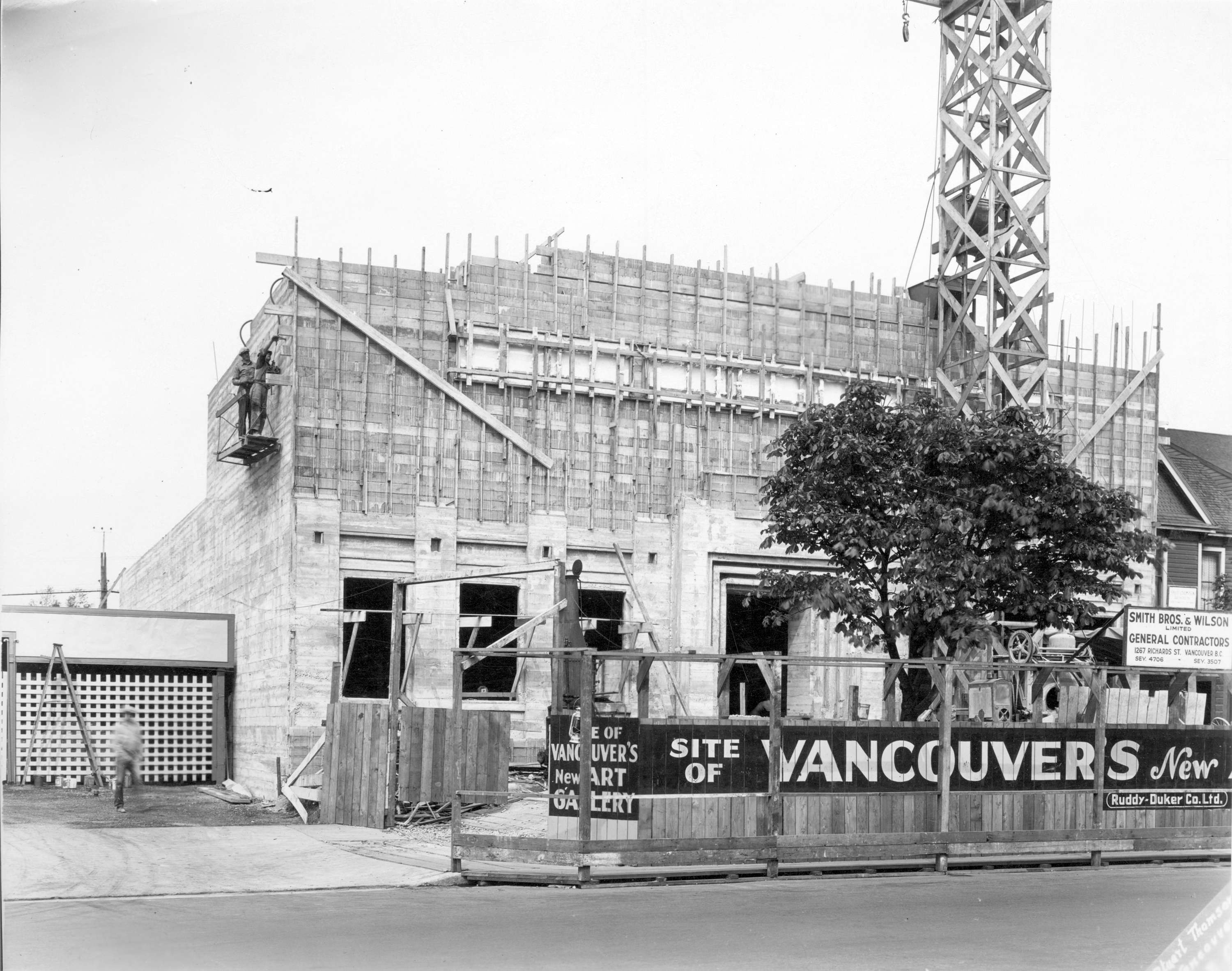 old vancouver art gallery