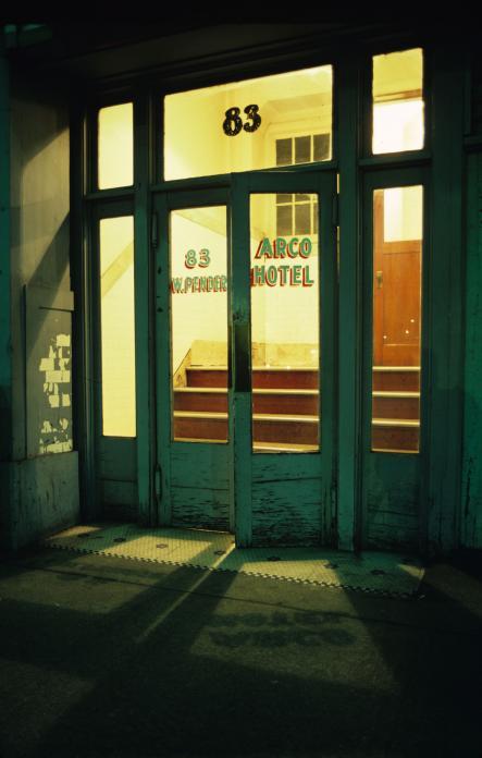 Greg Girard, Arco Hotel, 1971