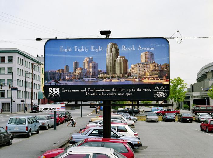 Roy Arden, Condominium Advertisement, (1999)