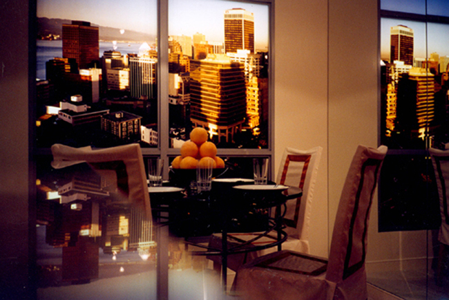Vikky Alexander, Model Suites, Dining Room, 2005